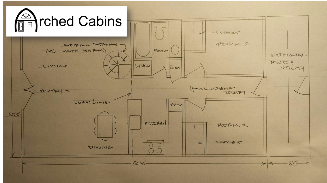 Pictures, Videos & Floor Plans - Welcome to Arched Cabins! on