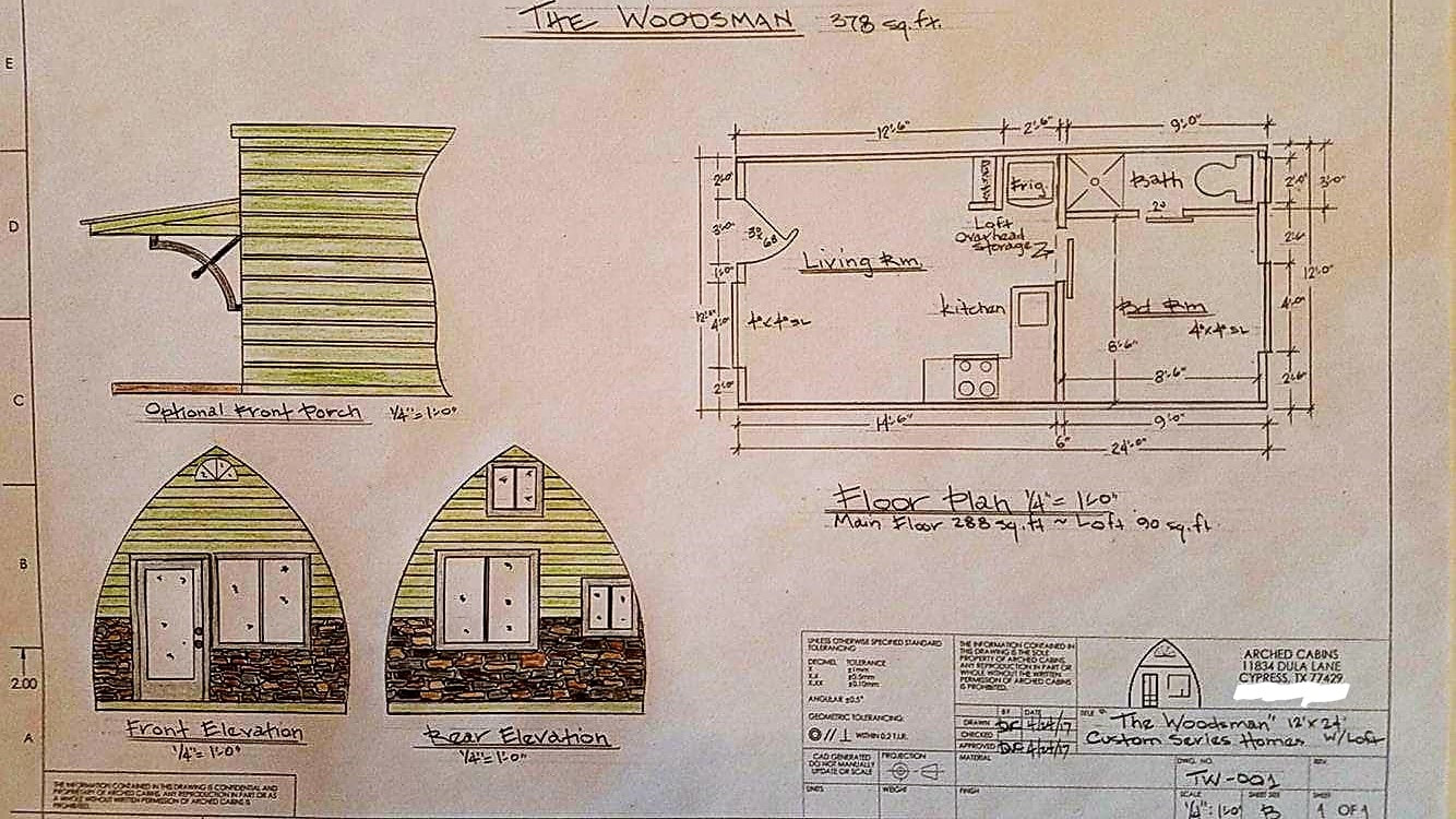 Pictures, Videos & Floor Plans - Welcome to Arched Cabins!